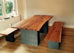 Tische von Matthias Kroth im Esszimmer