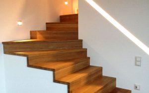 Treppenstufen auf Beton in Faltwerkoptik Matthias Kroth