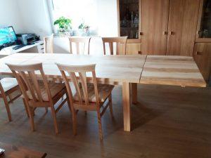 Massive Tische und Sitzmöbel von Matthias Kroth